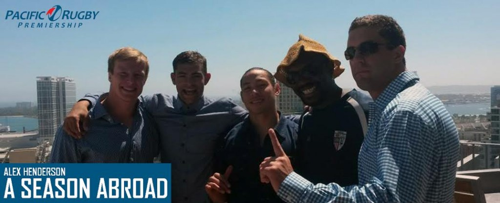 OMBAC Rugby – 'Alex Henderson; A Season Abroad'